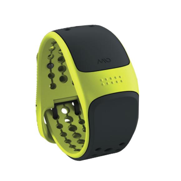 Mio LINK zápěstní senzor srdečního tepu s krátkým páskem - electric