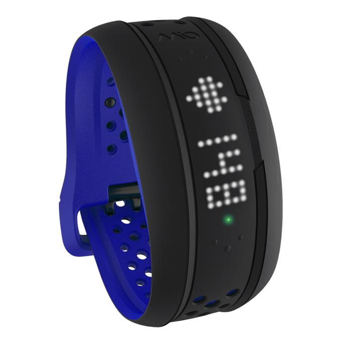 Mio FUSE senzor srdečního tepu, denní aktivity a spánku - krátký pásek - kobaltově modrý