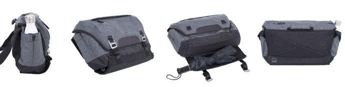 Acme Made Divisadero Messenger – for up to 15,6 laptop, gray
