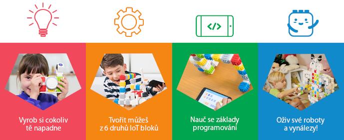 Cubroid rozvíjí představivost, kreativitu, zručnost, učí děti programovat a je s ním skvělá zábava