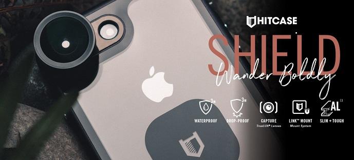 Hitcase Shield LINK pro iPhone X a XS - černý