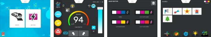 applikáció Intelino a Snap Editor
