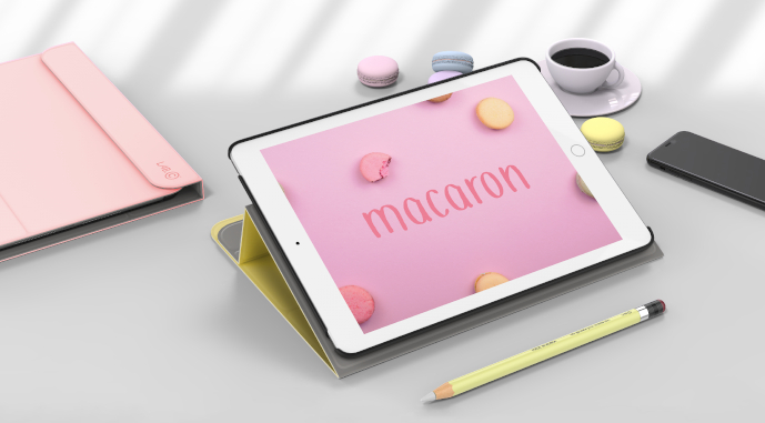 LAB.C Slim Fit Case Macaron – obal na iPad 10,2