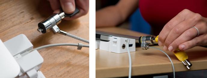 "LandingZONE DOCK – MacBook Air Retina 13"" 2018+ se slotem pro zámek Kensington"