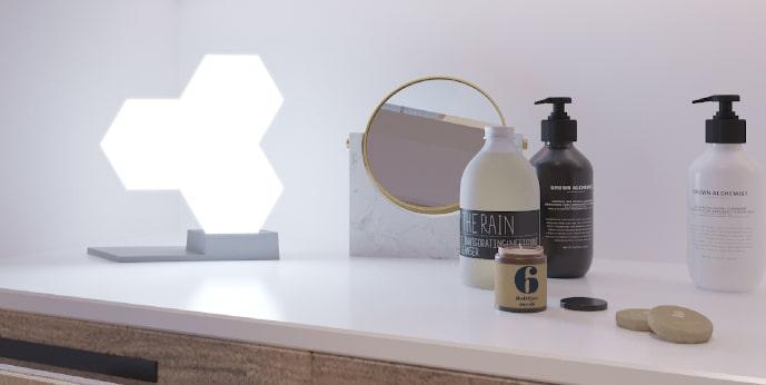 Cololight chytré ambientní osvětlení zkrášlí váš toaletní stolek