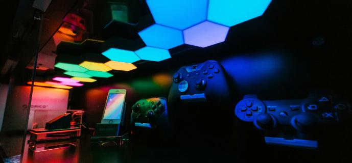 Modulární osvětlení Cololight tvoří motivační osvětlení pro počítačové hry