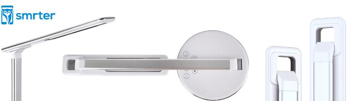 Smrter Lichta – dotyková LED lampa s rychlonabíječkou (7,5 W), bílá