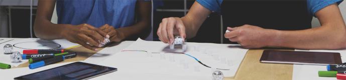 OZOBOT EVO programovatelný robot v hodinách matematiky