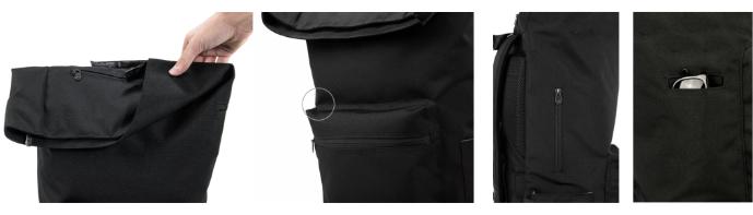 nové rvky na batohu na notebook Brighton II