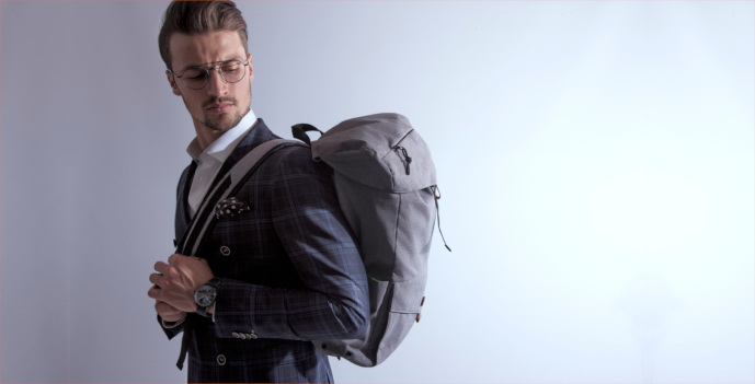 PKG Cambridge Laptop Backpack 15