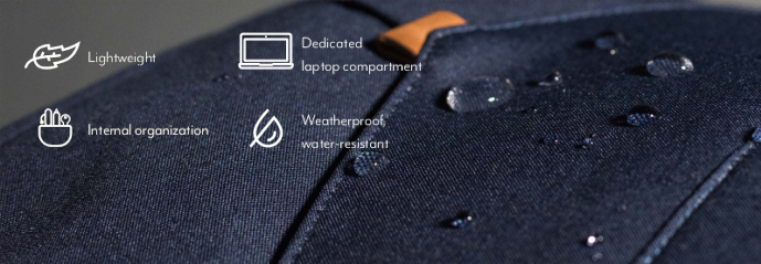 voděodolný batoh na notebook