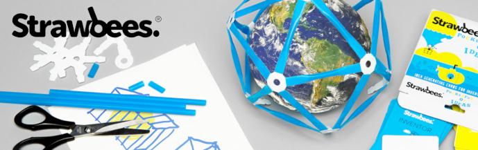 Strawbees Imagination Kit – stavebnice z brček, sada Představivost