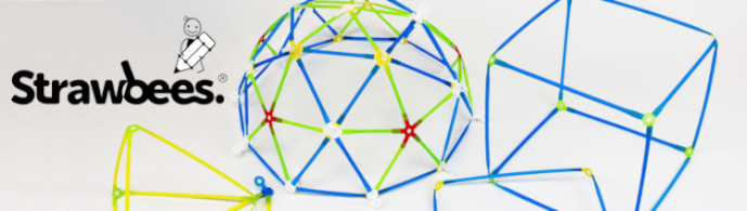 Strawbees Stavitel – sada ke stavbě trojrozměrných projektů