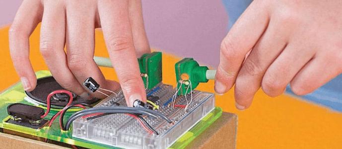 STEM syntezátor pro děti – hračka udělej si sám