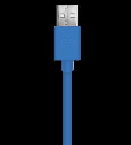 PureGear Lightning USB kabel 120 cm - modrý