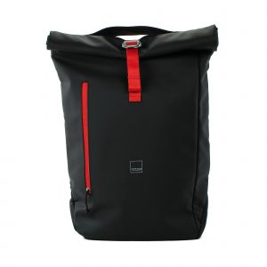 Acme Made North Point Large Roll-top Backpack - černý/oranžový