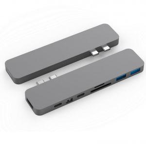 HyperDrive™ PRO USB-C Hub pro MacBook Pro - Space Gray