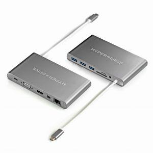 HyperDrive™ Ultimate USB-C Hub - Space Gray