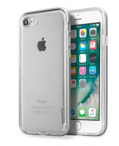LAUT Exoframe – kryt na iPhone 7 / 8, Silver
