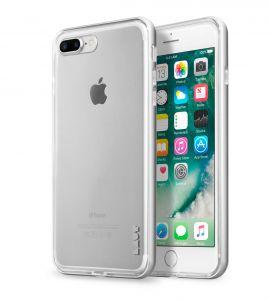 LAUT Exoframe case pro iPhone 8/7 Plus - Silver