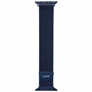 LAUT Steel LOOP – řemínek na Apple Watch 38/40 mm, modrý