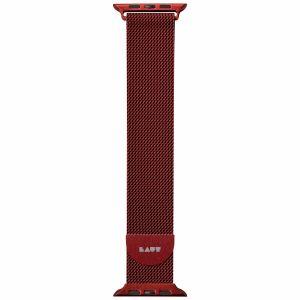 LAUT Steel LOOP – řemínek na Apple Watch 38/40 mm, červený