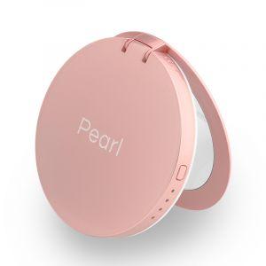 Hyper Pearl make-up mirror & powerbank - Rose Gold