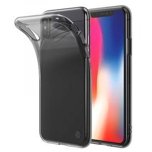 LAB.C Slim Soft Case – kryt na iPhone X, kouřově černý