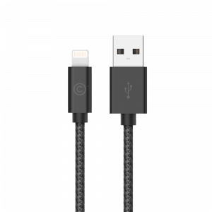 LAB.C Lightning Cable 1,2 m - černý