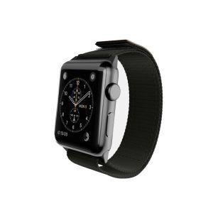 Monowear Nylon Active Band pro Apple Watch – černá, Dark Gray, 42 – 44 mm