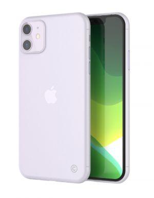 LAB.C Tenký kryt na iPhone 11 – 0,4 mm, matná čirá