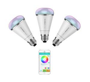 MiPow Playbulb™ Rainbow – chytrá LED Bluetooth žárovka, E26/E27, 3 kusy