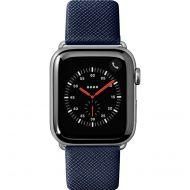 LAUT Prestige –saffiánový řemínek na Apple Watch 42/44 mm, modrý