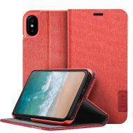 LAUT Apex Knit case pro iPhone X - Crimson