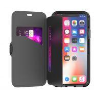 Tech21 Evo Wallet pro iPhone X - černá
