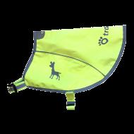Tractive neonová reflexní vesta s kapsou pro GPS vel. S