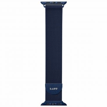 LAUT Steel LOOP – řemínek na Apple Watch 42 / 44 mm, modrý