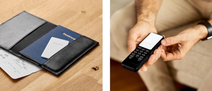 Chipolo CARD – lokalizační čip v pasu a na dálkovém ovladači
