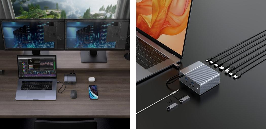 HyperDrive GEN2 USB-C hub 12 v 1
