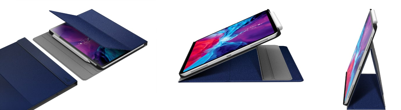 LAB.C Slim Fit Case – obal na iPad Pro 11 (2020), modrý