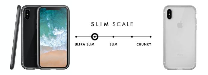 LAUT  Exoframe – tenký ochranný kryt na iPhone X