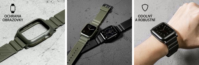 LAUT AW IMPKT ochranný řemínek na Apple Watch 42/44 mm