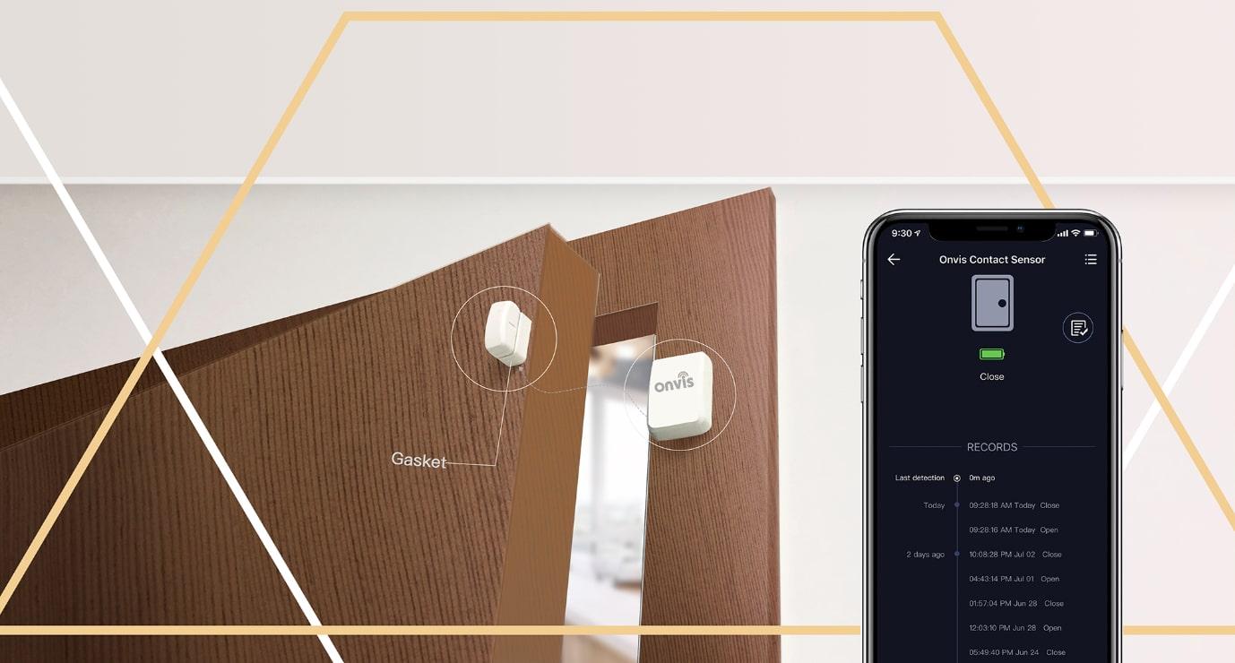 ONVIS Magnetický senzor na dveře / okna – HomeKit, BLE 5.0