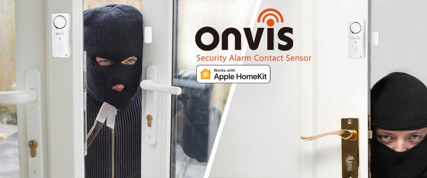 Bezpečnostní systém Onvis – alarm se senzory CS1 pro Apple HomeKit