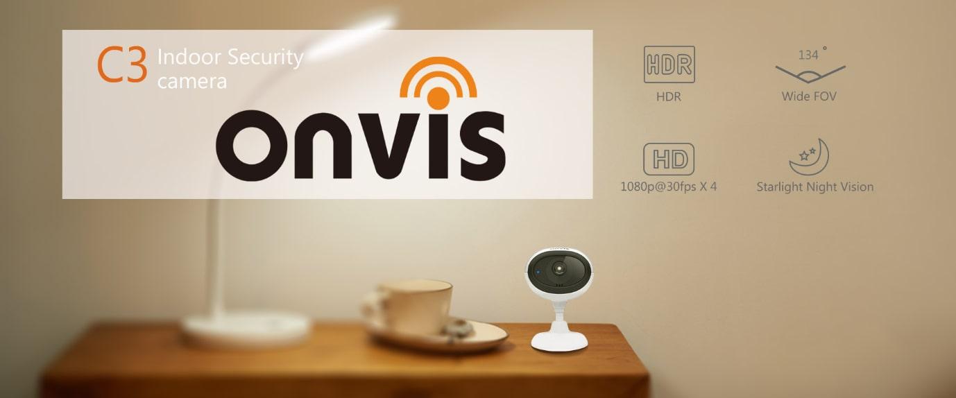 HomeKitová interiérová kamera Onvis C3