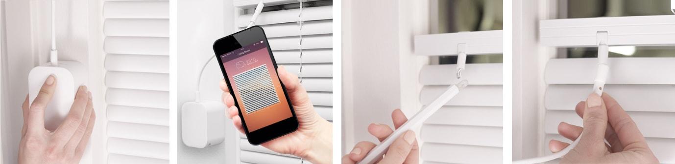 udělej si sám – elektrické žaluzie ve 4 snadných krocích – instalace zařízení Soma Tilt