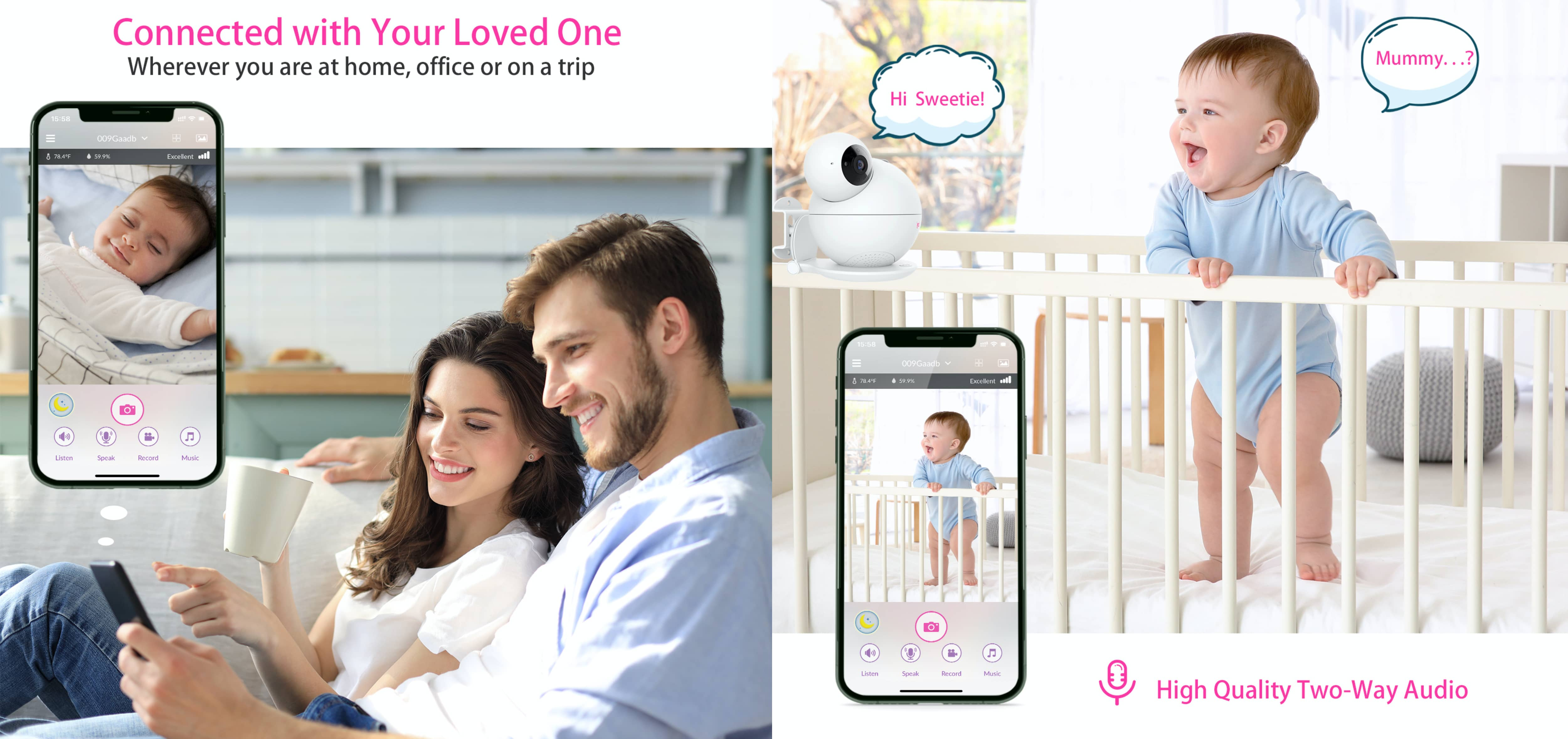 iBaby M8 baby monitor