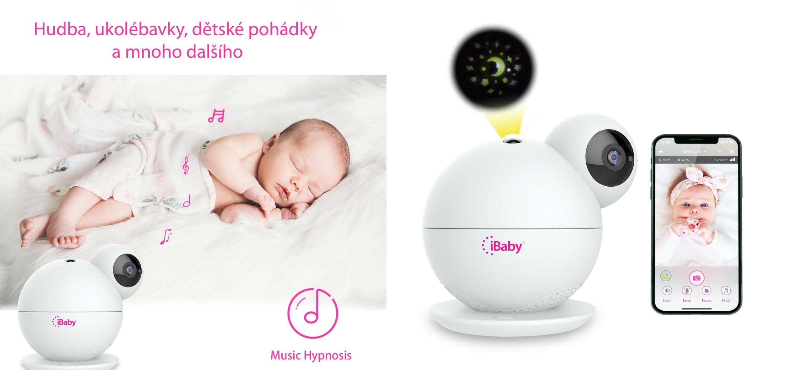 iBaby M8 chytrá dětská chůvička