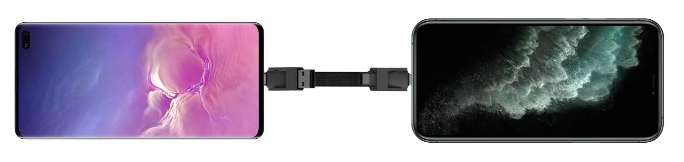 Nabíjejení mobilu z mobilu přes inCharge 6