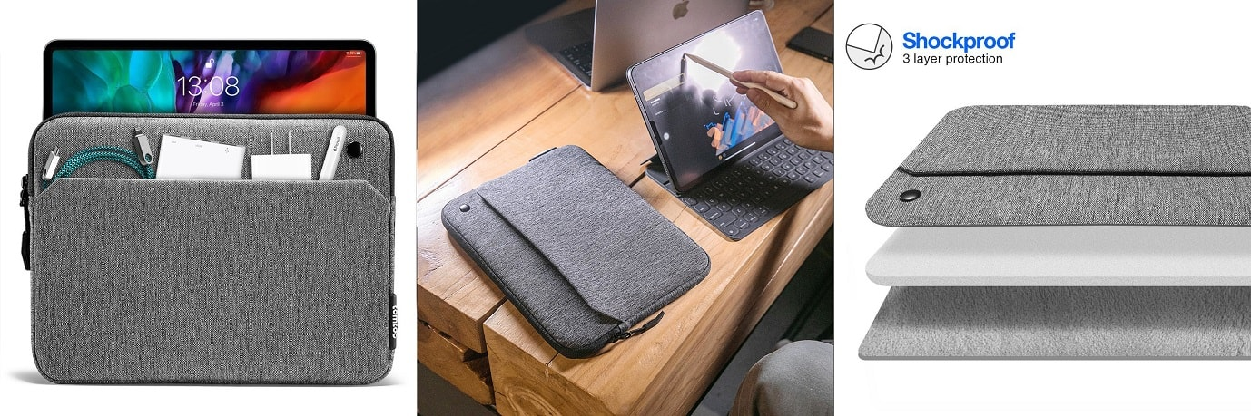 tomtoc obal na 10,9 iPad Air 4 / 11 iPad Pro